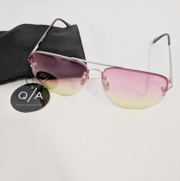 2771a06ff3d Quay • Muse Fade Aviator Sunglasses